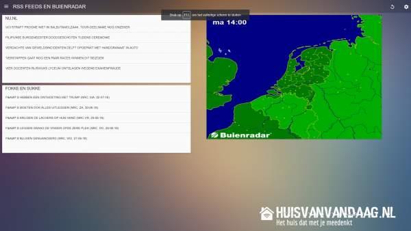 Homeydash, het bedieningsscherm voor Homey   Huisvanvandaag.nl