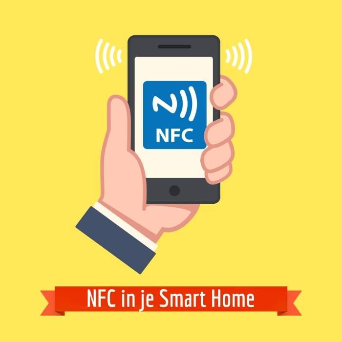 Wat gebeurt er wanneer je NFC combineert met je Smart Home?