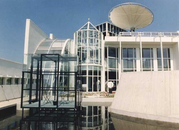 Het Huis van de Toekomst stond in Rosmalen. Tussen 1989-1999
