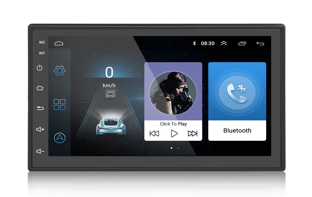 Android car radio GPS, Music, Videos, APP | Huisvvanvandaag.nl