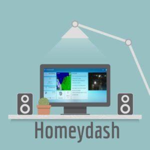 Homeydash, het bedieningsscherm voor Homey | Huisvanvandaag.nl