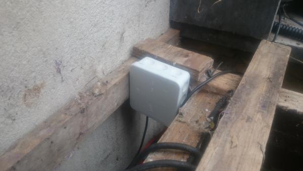 DS18B20 sensor in dichte doos | Huisvanvandaag.nl