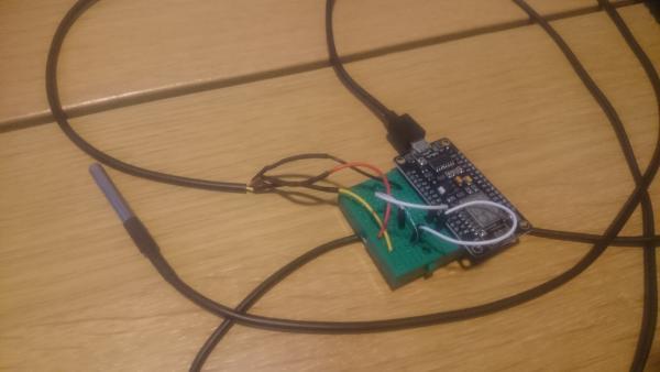 DS18B20 sensor aangesloten en getest | Huisvanvandaag.nl