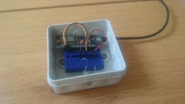 LDR sensor aangesloten op ESP8266 | Huisvanvandaag.nl