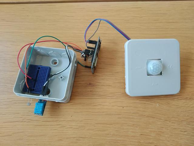 Multi-sensor Homeyduino PIR LDR DHT11 | Huisvanvandaag.nl
