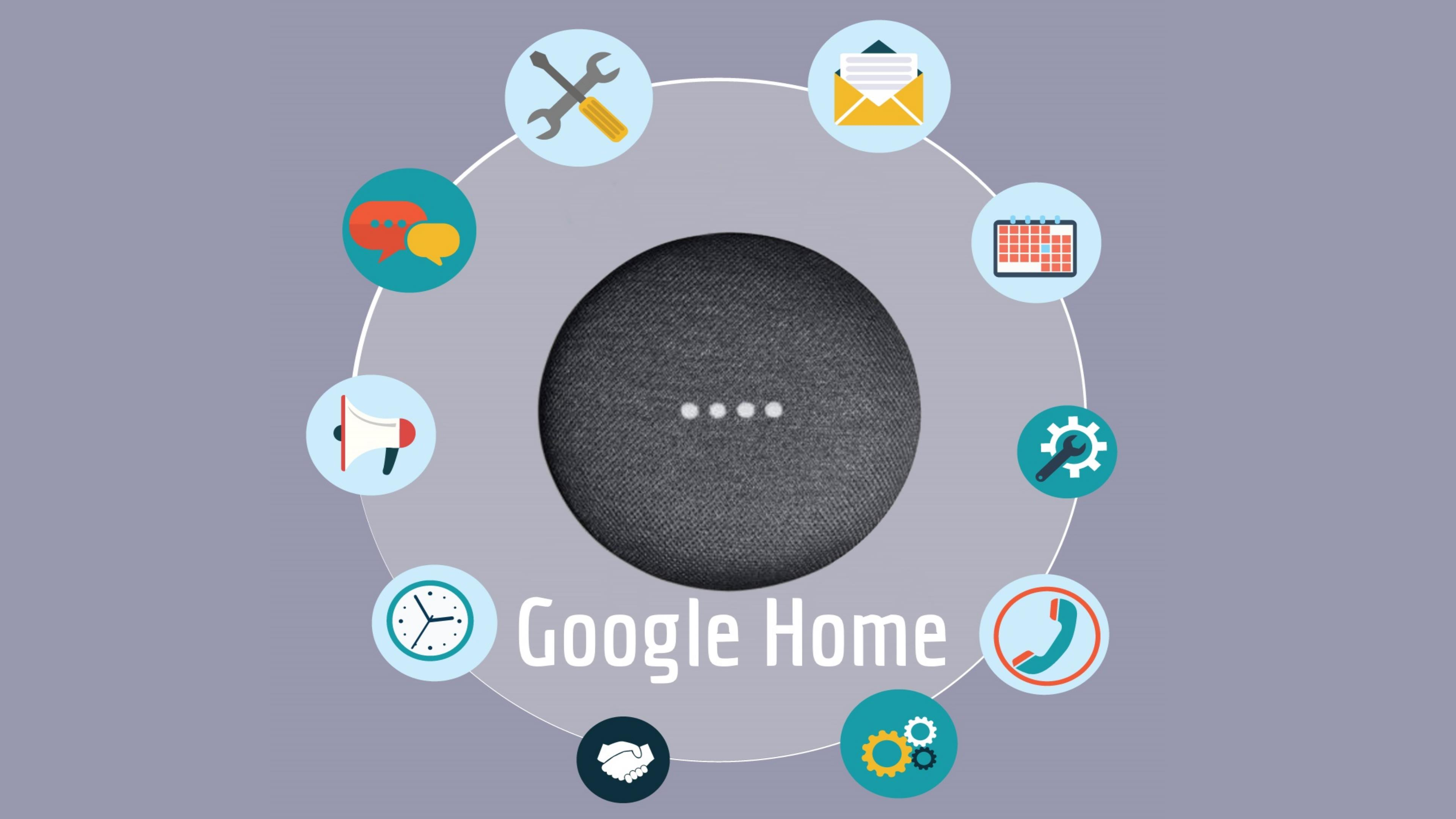 Google Home als Smart Home aansturing