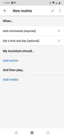 Routines maken op Google Assistent | Huisvanvandaag.nl