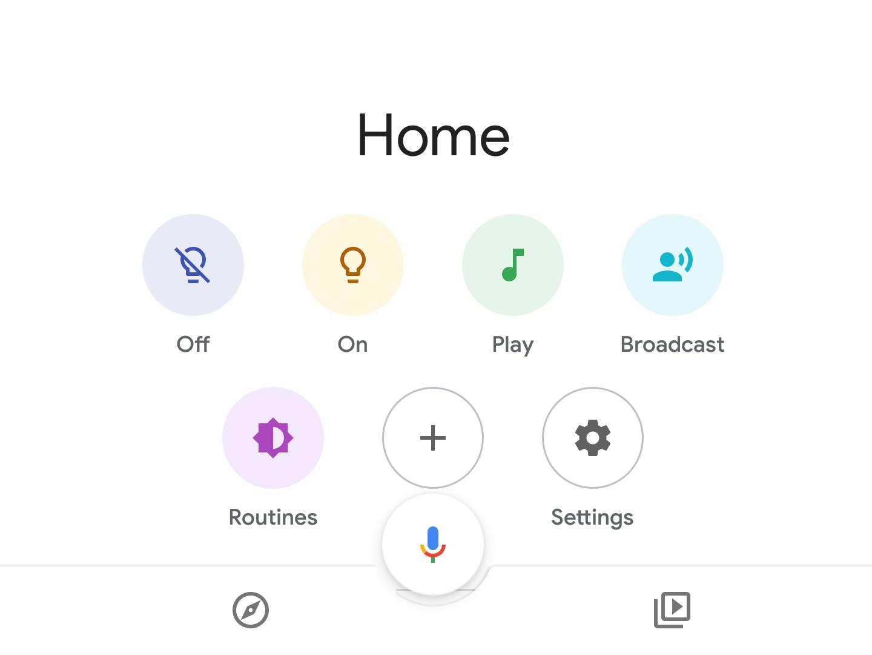 Google Routines