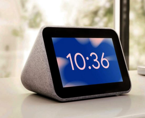 Lenovo Smart Alarm Clock met Google Assistent | Huisvanvandaag,nl