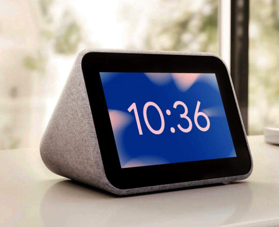 Lenovo's Slimme Wekker met Google Assistent
