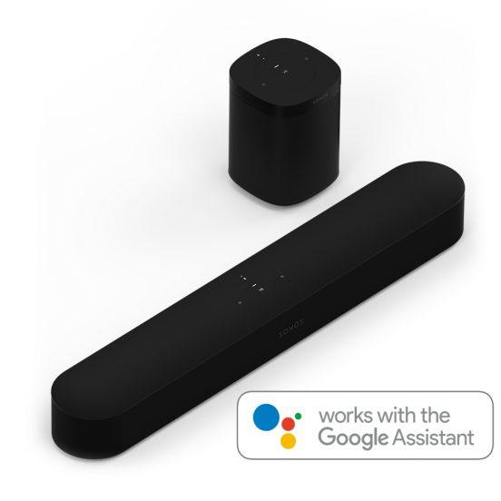 Sonos Beam & One met Google Assistent | Huisvanvandaag.nl