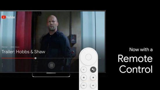 Chromecast afstandsbediening